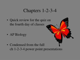Chapters 1-2-3-4