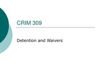 crim 309