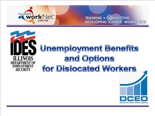 unemployment benefits  and options  for dislocated workers