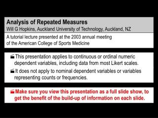 measurement analysis and adjustment