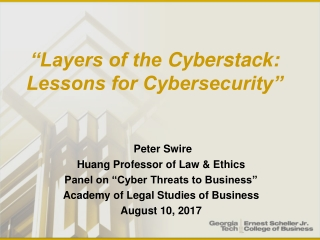cyber laws and code of ethics