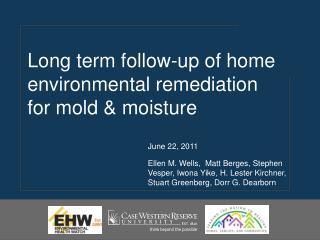 June 22, 2011  Ellen M. Wells,  Matt Berges, Stephen Vesper, Iwona Yike, H. Lester Kirchner, Stuart Greenberg, Dorr G. D