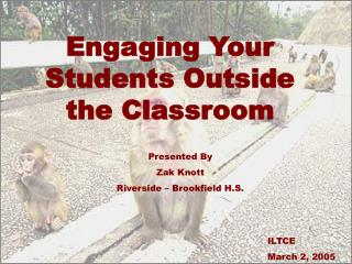 Engaging Your Students Outside the Classroom
