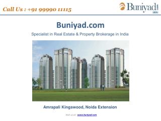 Amrapali new launch project Amrapali Kingswood