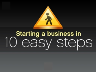 Starting A Business In 10 Easy Steps