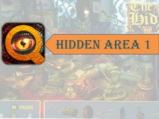 The Hidden Area 1 - Brain Puzzle Game