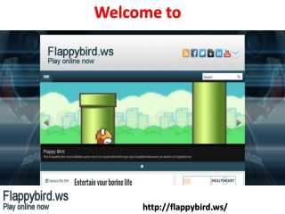 Few Facts On The Flappy Bird Mobile Game