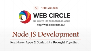 Node JS Development : Real-time Apps & Scalability Brought