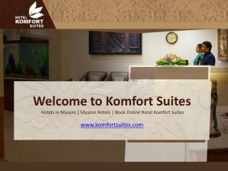 Komfort Suites, Hotels in Mysore