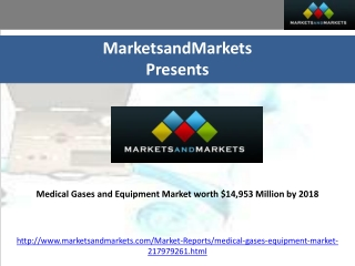 Medical Gases and Equipment Market worth $14,953 Million by