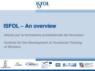 ISFOL   An overview