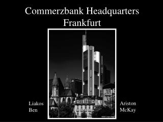 Commerzbank Headquarters Frankfurt