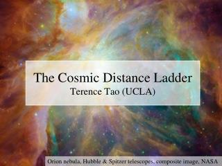 The Cosmic Distance Ladder Terence Tao UCLA