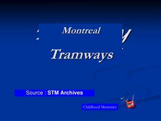 Tramway  de Montr al