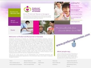 Edmonton Nannies Services Provider