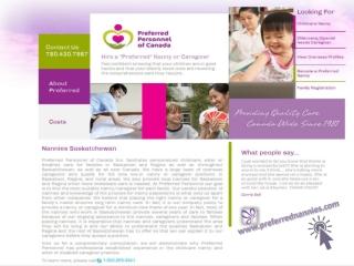 Perfect Edmonton Nannies Services
