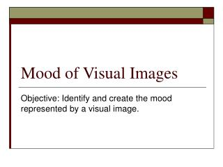 Mood of Visual Images