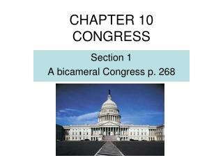 chapter 10 congress