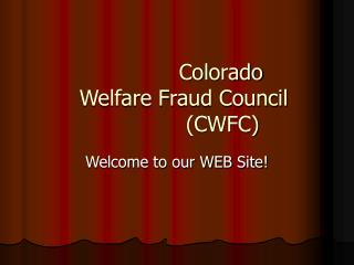 colorado welfare fraud council