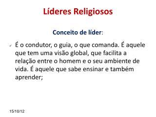 L deres Religiosos