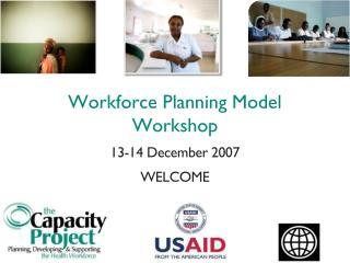 workforce planning model workshop