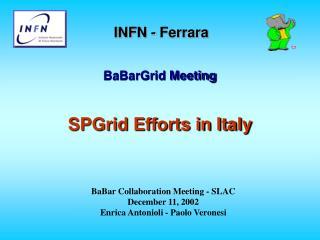 INFN - Ferrara
