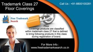 Trademark Class 27 | Floor Coverings