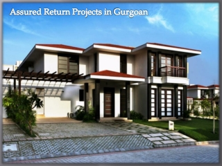 Assured Return Projects in Gurgoan