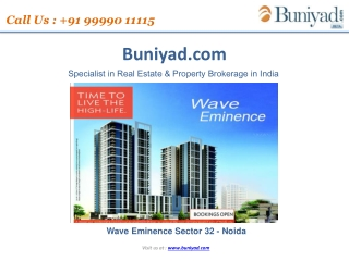 Wave Eminence |Wave City Center