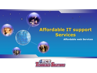 Affordable IT support Services - RCS Technology Solutions