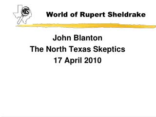 World of Rupert Sheldrake