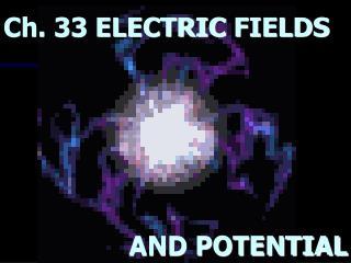 Ch. 33 ELECTRIC FIELDS