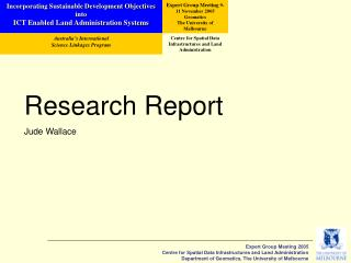 Research Report Jude Wallace