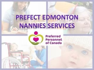 Perfect Edmonton Nannies Services Provider