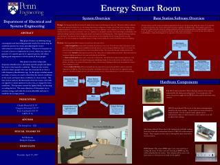 Energy Smart Room