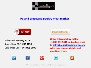 Poland processed poultry meat Industry analysis and overview