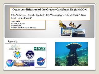 Ocean Acidification of the Greater Caribbean Region