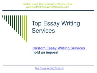 top essay writing services