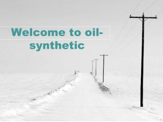 Welcome to oil-synthetic