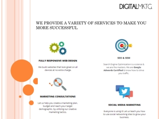 Digital Marketing and Search Engine Optimization