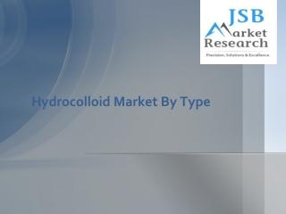 Hydrocolloid Market By Type