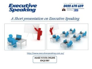 Know Your Unique Presentation skills