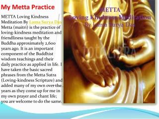 My Metta Practice