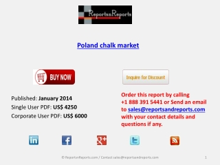 Poland chalk market Industry Analysis, Overview, Forecast by