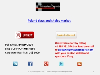 Poland clays and shales Industry Analysis, Overview, Forecas