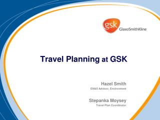 Travel Planning at GSK