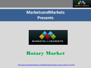 Rotary Market worth $1427.78 Million By 2018