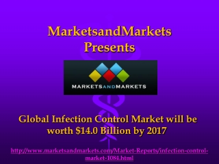 Global Infection Control Market by 2017