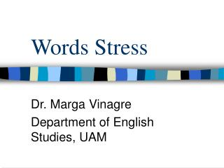 Words Stress