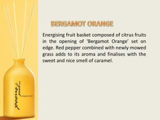 Energising fruit basket composed of citrus fruits in the opening of  Bergamot Orange  set on edge. Red pepper combined w